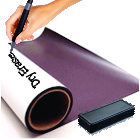 0.025 White Dry Erase Magnetic Sheets/Rolls
