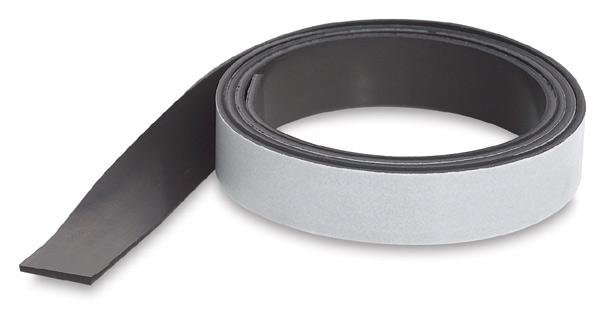 """Medium 0.030"""" White Vinyl Magnetic Bulk Rolls"""