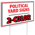 2-Color Political Yard Signs