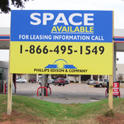 LARGE MDO Signs