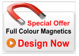 Full Colour Magnetic Sign 600mm x 250mm