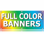 Heavy Weight Printed Banner <br> Unlimited Colors & Artwork