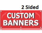 Extra Heavy Weight 2 Sided Banner