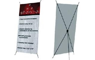 Stanza Standing Banner - 31x70