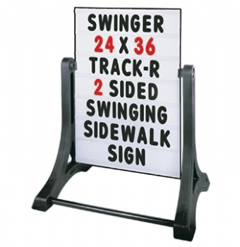 Swinger Standard Message Board Sidewalk Sign