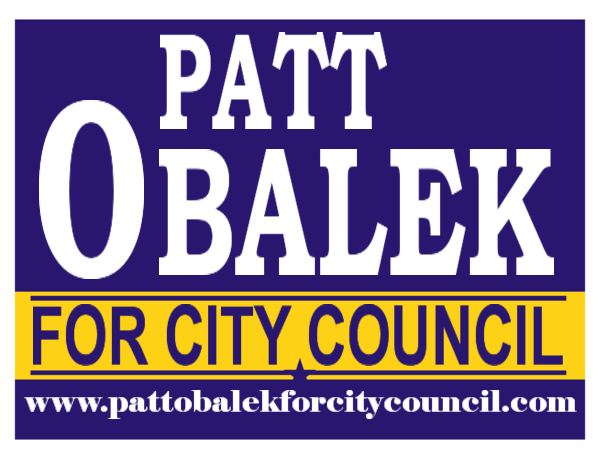 ELECTION SIGN 109