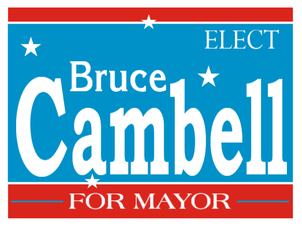 ELECTION SIGN 129
