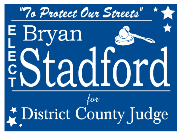 ELECTION SIGN 135