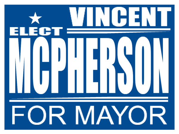 ELECTION SIGN 137