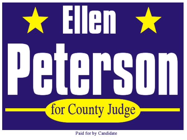 ELECTION SIGN 18