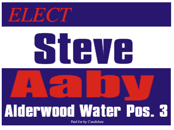 ELECTION SIGN 16