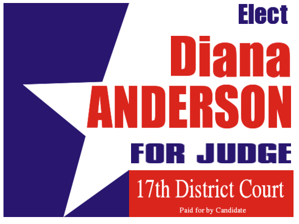 ELECTION SIGN 22