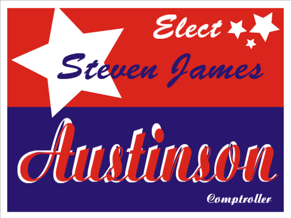 ELECTION SIGN 74