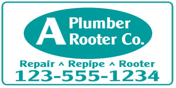 plumber plumbing rooter
