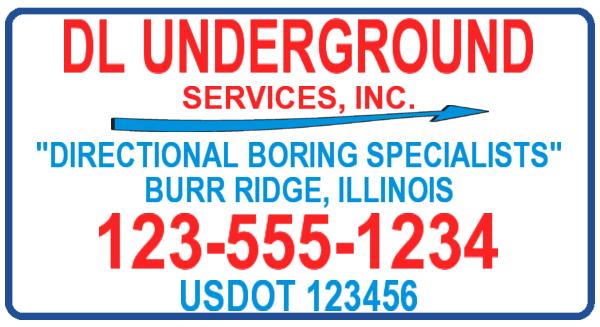 dl underground plumbing template
