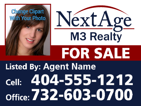 nextage realty 24x18 agent sale photo image