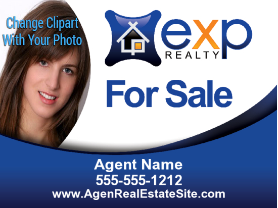 exp for sale photo sign 24x18