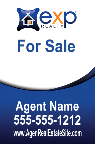 exp agent sign freefrom 24x36