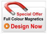 Rear Van Door magnetic sign 600mm x 550mm