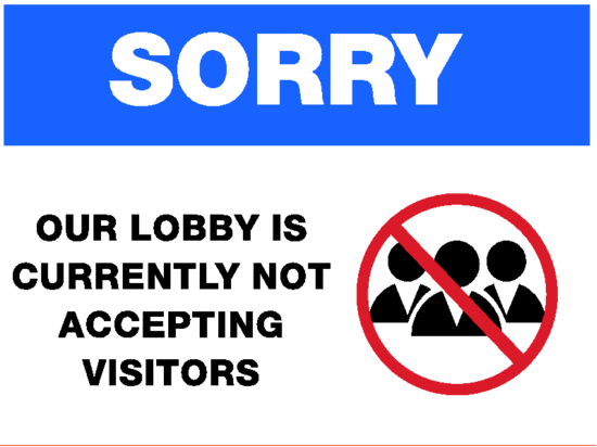 No visitors image