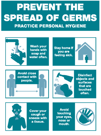 prevent germs image